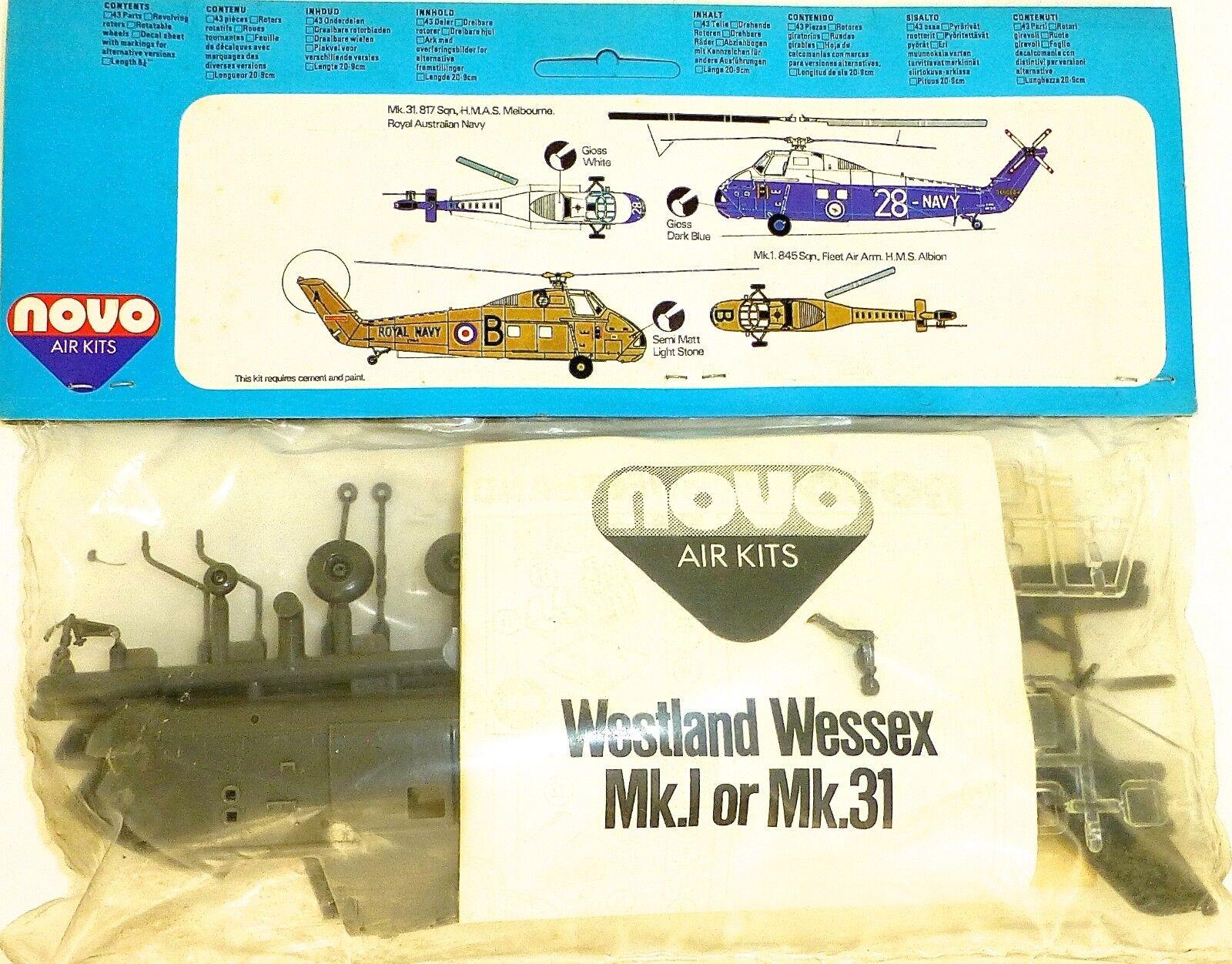 Westland Wessex Mk.i 31 Anti-sommergibile Anti-sommergibile Anti-sommergibile Elicottero F247 Novo 78025 1 72 e89812