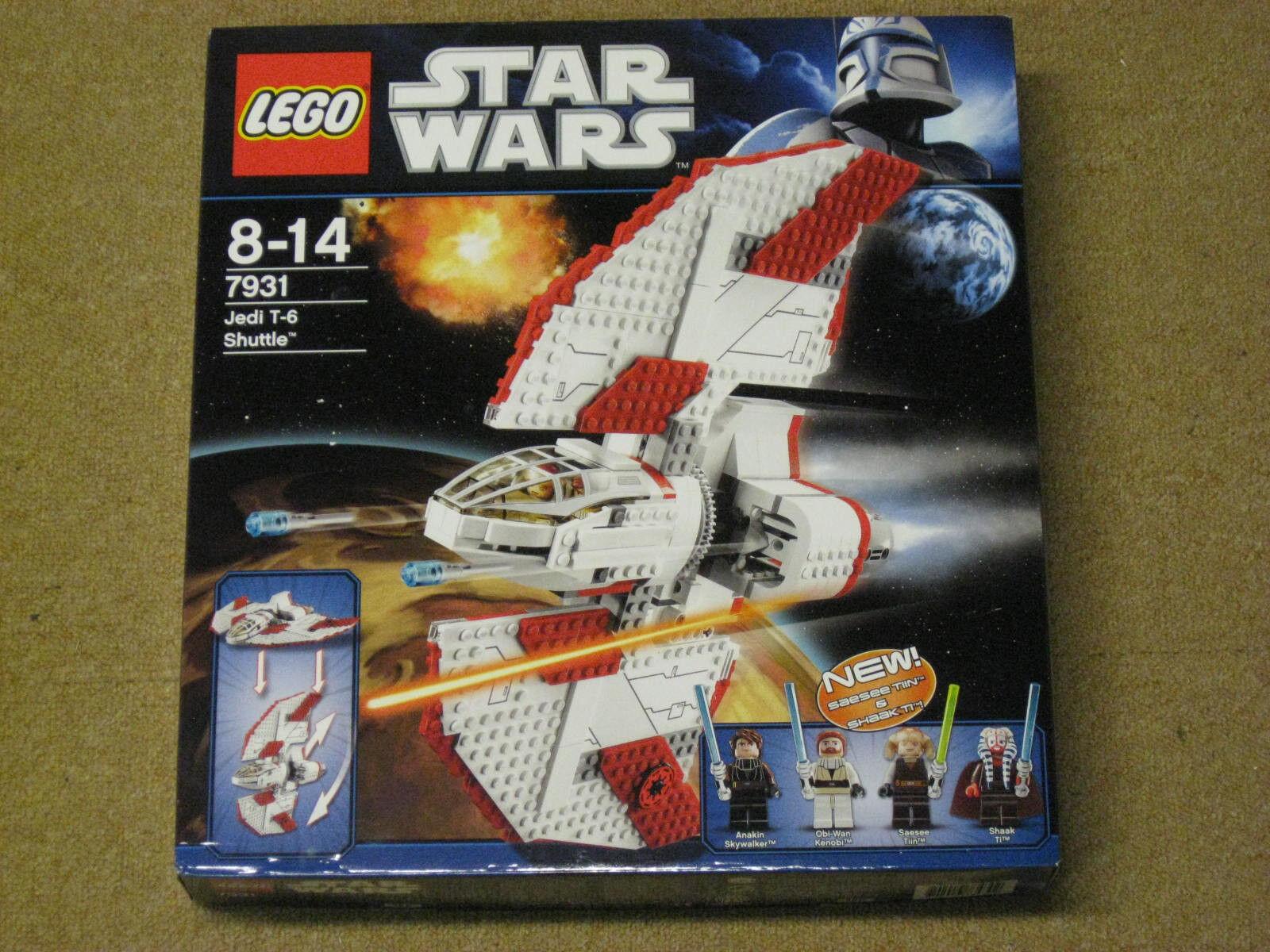 LEGO estrella guerras 7931 Jedi t-6 Shuttle... NUOVO...  OVP...... non aperto  tutti i prodotti ottengono fino al 34% di sconto