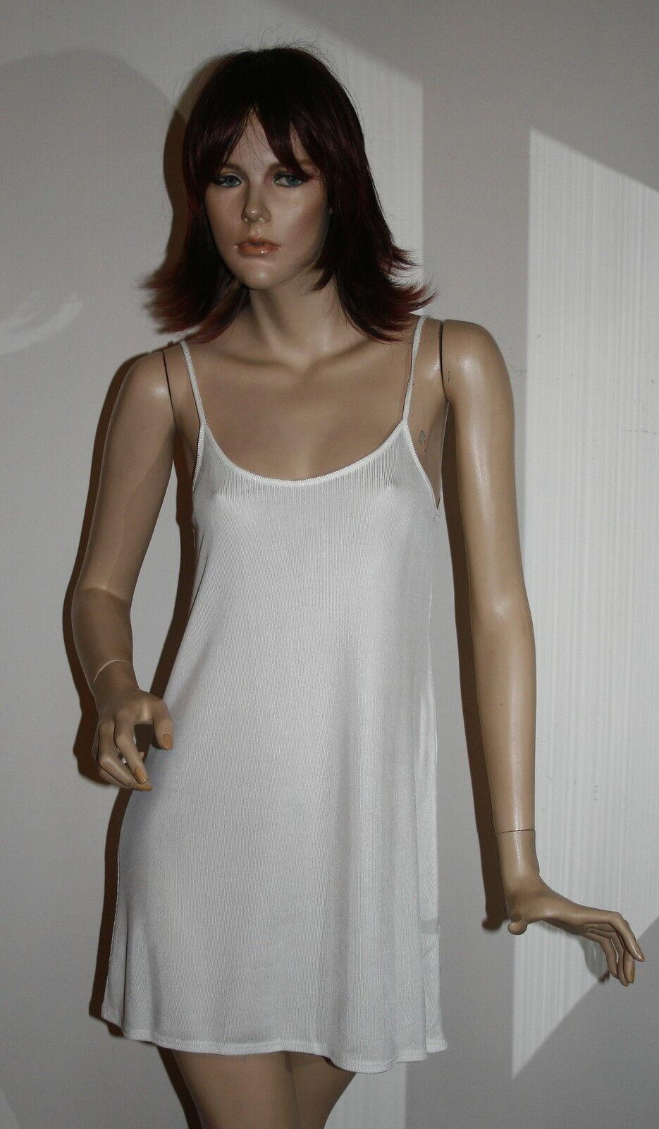 Sottoveste abito notte colore de perla tg 42 ile de colore roches fresca viscosa naturale d1ab70