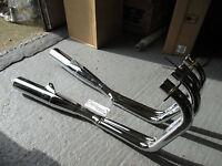 Honda CB750 SOHC Full Exhaust system chrome 4-2 new.