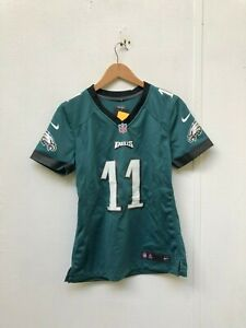 newest 2eb1b 55922 Details about Philadelphia Eagles Nike Women's Game Jersey - Small - Sylvia  11 - Green - NWD