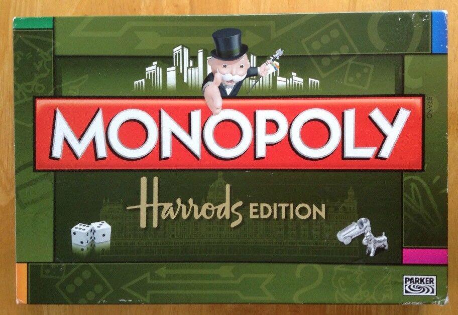 Monopoly HARRODS molto Raro & Completo unico DA PARKER 2-6 giocatori Età 8+