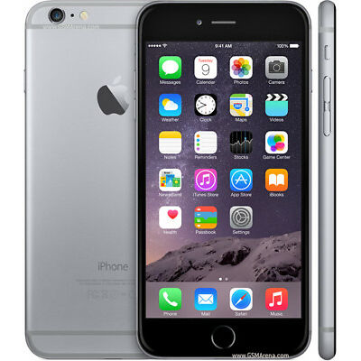 "Original Apple iPhone 6 Plus 5.5"" 128GB Móvil Libre Teléfono 4G lTE SmartPhone"