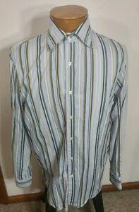 9fe477453e Indigo Palms Denim Co. By Tommy Bahama Cotton Mens Shirt Long Sleeve ...
