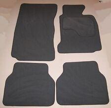 BMW E60 5 SERIES AUTOMATIC G/BOX 03-10 & M SPORT GREY VELOUR CAR MATS + 4 x PADS