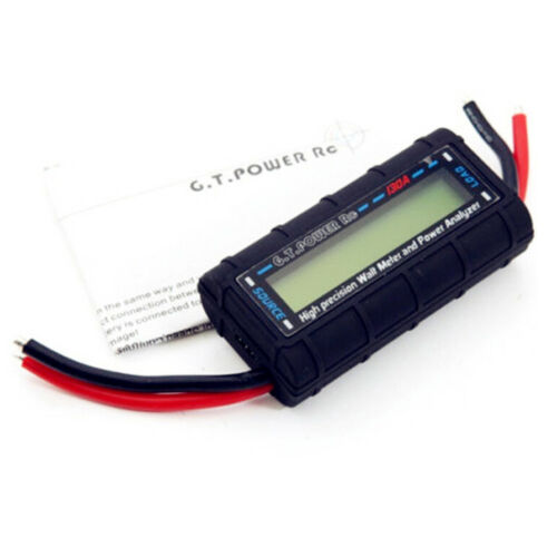Precision rc 130A watt meter and power analyzer LCD gt-power 60V  I