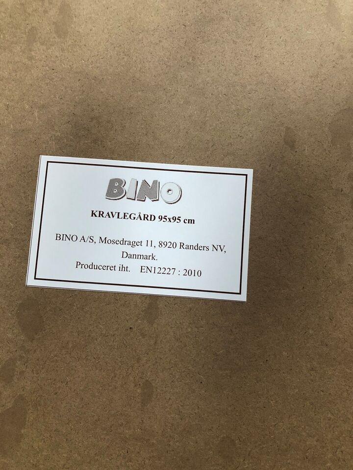 Kravlegård, Kravlegård med madras, Bino
