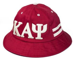32a76fc2e Details about Kappa Alpha Psi Bucket Hat Cap Red