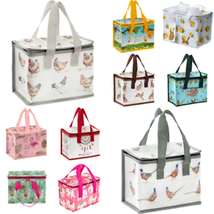 Childrens-Kids-Lunch-Bags-Insulated-Cool-Lunch-Bag-Country-Life-Collection