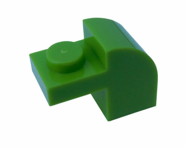 X1 # LEGO Stone Oblique Stone 2x2 Green Turquoise Printed 4980 4959 3039px15 3 ST
