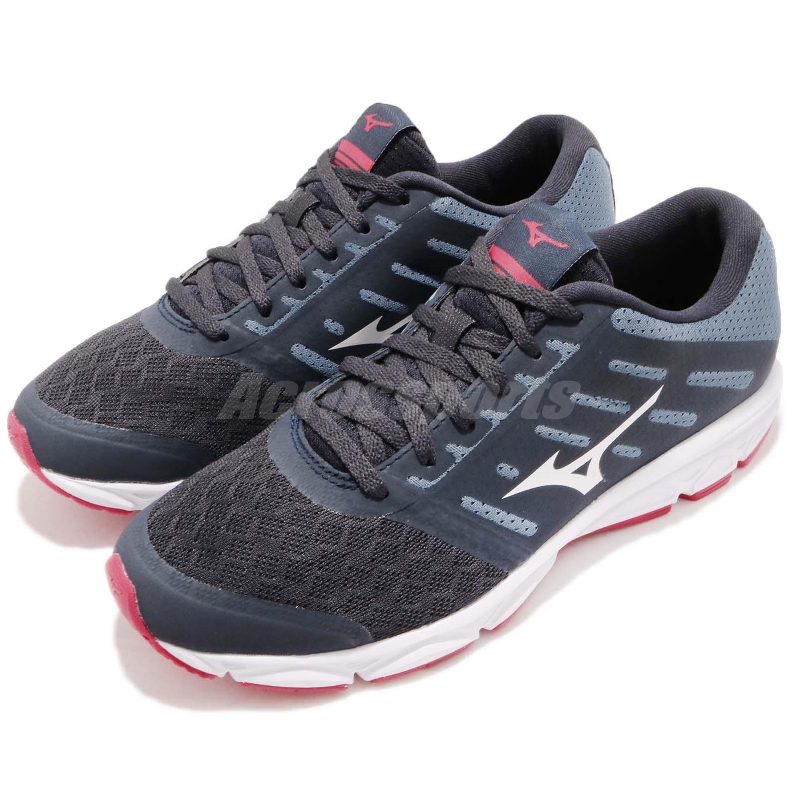 Mizuno  EZRun Grey blueee White Red Women Running Training shoes Sneaker J1GF1838-07  up to 42% off