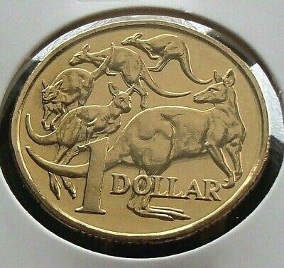 1995 Australia One $1 Dollar Coin Choice Gem Ex Mint Set Mob of Roos
