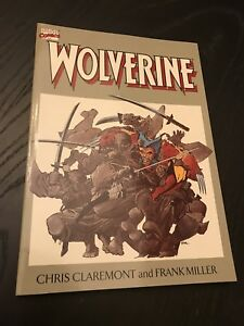 Wolverine-Graphic-Novel-TPB-NM-amp-HTF-The-Original-4-part-series-in-one-book