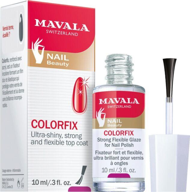Mavala Colorfix-Überlack 10ml Farblos, Nagellack hält 3 x länger.