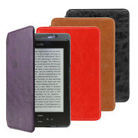 ULTRA THIN CASE COVER PU LEATHER WITH BUILT-IN LIGHT FOR AMAZON KINDLE 4 £69