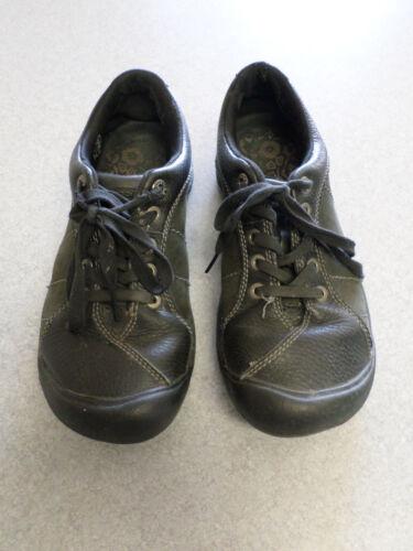 KEEN black leather oxfords, Women's 6