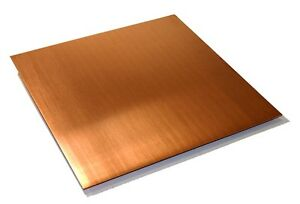 "Copper Sheet .043"" Thick - 32oz - 18 Ga - 8""x36"" - FREE 48 STATE SHIPPING"