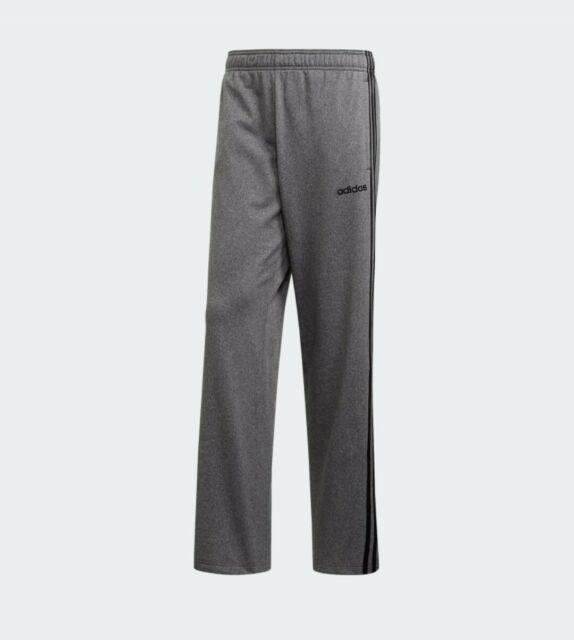 adidas Men's Essentials 3-stripes Track Pant Sweatpants Gray ...