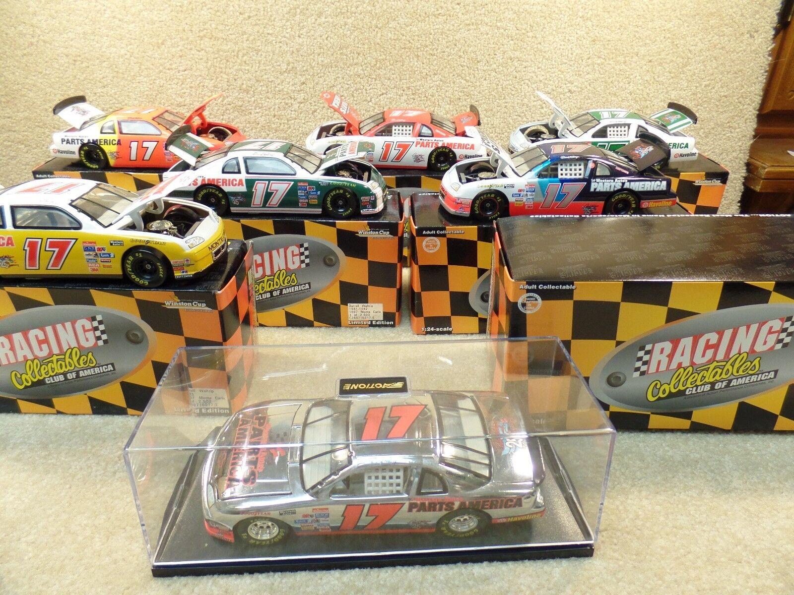 Nuovo 1997 RCCA 25th Anniversary Set Rare 1 24 Diecast NASauto Darrell Waltrip;