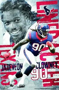 Jadeveon-Colgantes-Houston-Texans-Poster-22x34-NFL-Futbol-13661