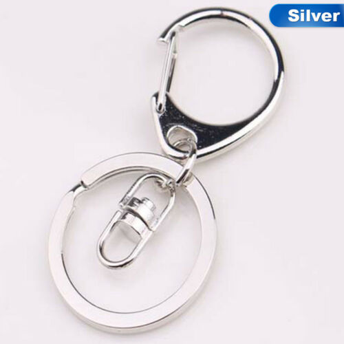 Unisex Gold Silver Key Chains Ring Parts Bag Charms Car Keyring Trink zzbt vGgzT