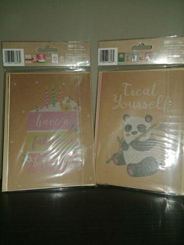 appreciation cards thank u cards. 12pack Kraft cards assorted