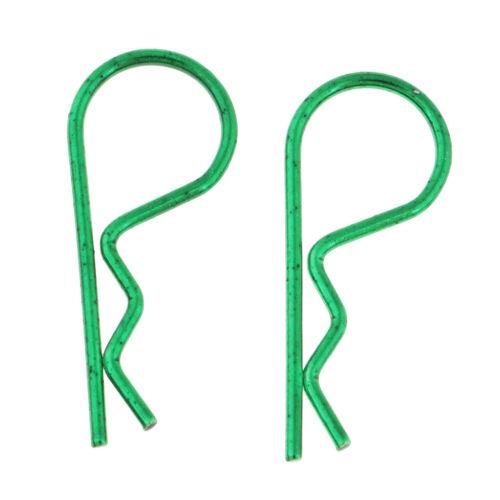 20x RC Karosserie Splinte Karosserieklammern R-Clips für HSP HPI Redcat Traxxas