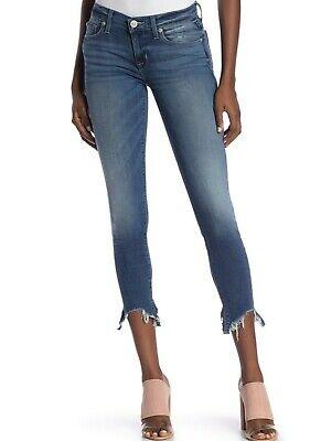 $ 189 Nuova Con Etichetta Hudson Sz27 Krista Corto Raw Orlo Super Skinny-stretch