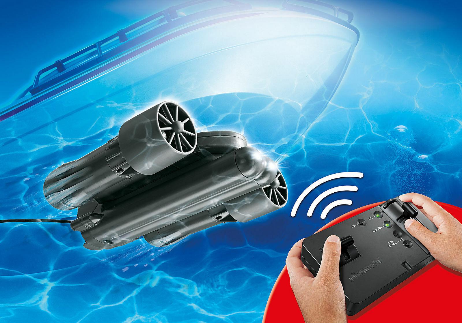 Playmobil - 9853 - RC-Unterwassermotor - NEU OVP