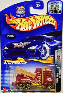 Diskret Hot Wheels 2003 Final Run Rigg Strandräuber #195 Rot Werkseitig Versiegelt QualitäTswaren Autos, Lkw & Busse Auto- & Verkehrsmodelle