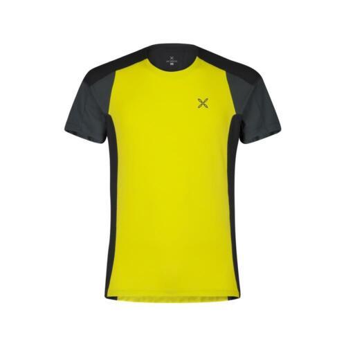 Giallo Zolfo//Piombo Montura Outdoor Trail 2 T-Shirt 7493