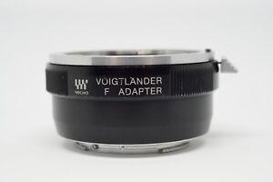 Voigtlander-Nikon-F-Lens-to-Micro-Four-Thirds-Mount-Adapter-Micro-4-3-MFT