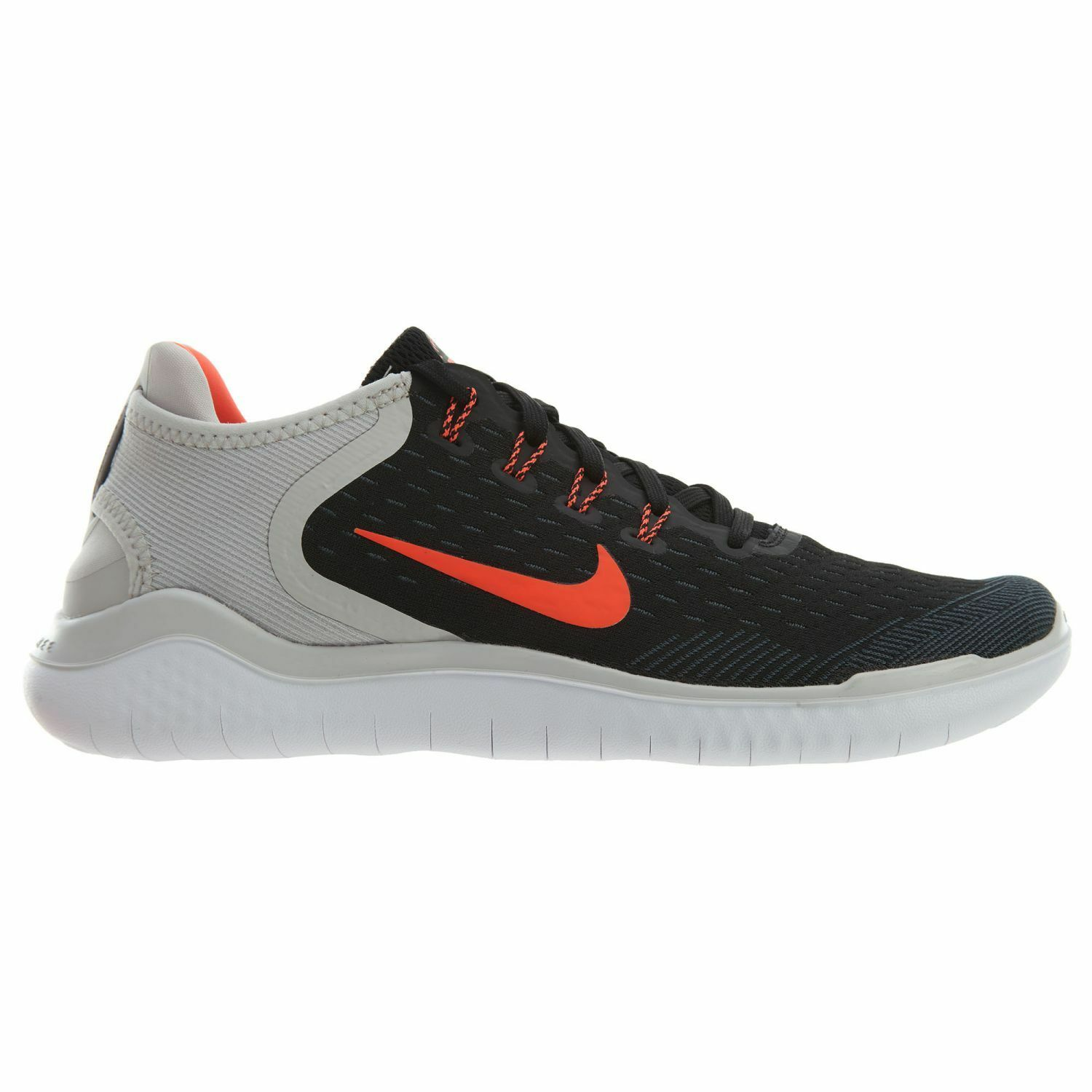 Nike Free Running RN 2018 Mens 942836-005 Black Crimson Grey Running Free Shoes Size 8.5 cab2a8