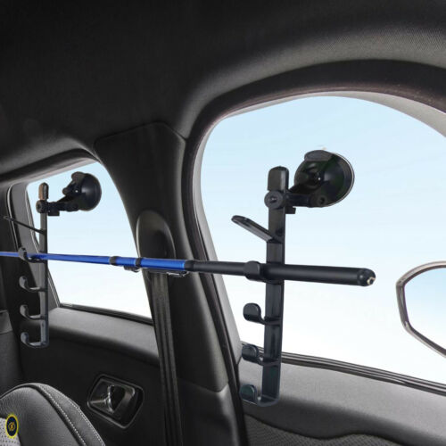 Fishing Rod Holders with Suction Cups Attach For Car//Truck//SUV//Smooth Glass