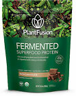 PlantFusion Fermented Superfood Protein Powder Chocolate 10.6 Oz Packet