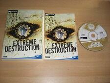 Robot wars-extrema destrucción PC CD ROM rápido 1st Class Post