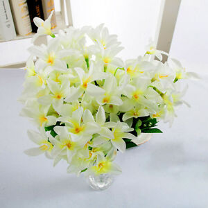 Awesome Details About Artificial Silk Lilly Fake Flower Plant Bouquet 30 Head Bedroom Table Decoration Home Remodeling Inspirations Cosmcuboardxyz