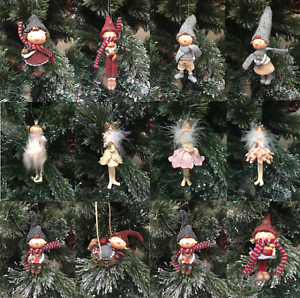 Hanging Boy Girl Ballerina Fairy Christmas Tree Decorations Gift For
