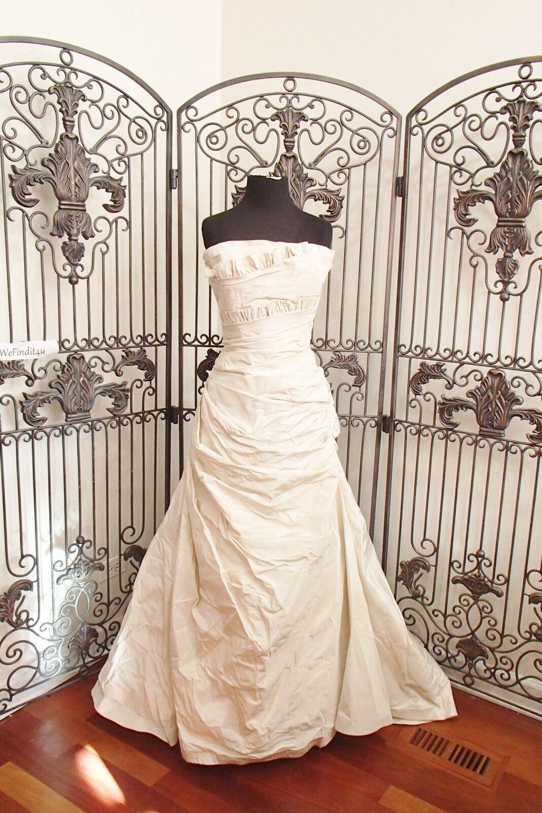 N71 Watters Monclova 4037b Hochzeitskleid Sz 12 Brautkleid Kleid | Vorzugspreis  | Tragen-wider  | Speichern