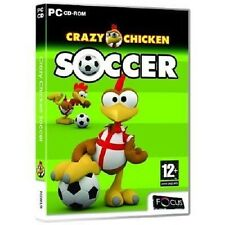 Crazy Chicken Soccer (PC CD Game) Brand New & Sealed, Free US Shipping