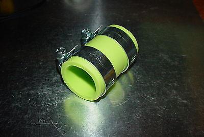 "YAMAHA Blaster HIGH TEMP EXHAUST CLAMP YFS 200 1/""ID Dirt bike GREEN GREEN"