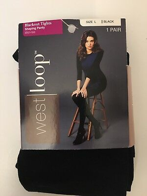 West Loop Blackout Tights Shaping Panty Control Top Pick Your Size