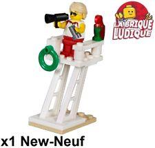 Lego City Minifig Cty0757 NEUF Le canoe Kayak Figurine