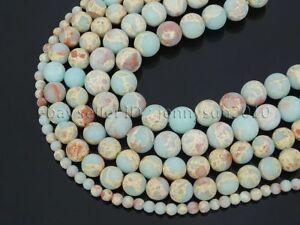 Natural-Matte-Shoushan-Stone-Gemstone-Round-Beads-15-039-039-Strand-6mm-8mm-10mm-12mm