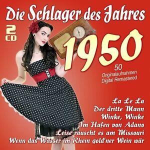 DIE-SCHLAGER-DES-JAHRES-1950-2-CD-NEU