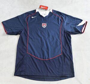 competitive price 26767 e9c33 Details zu Nike Fussball Trikot USA National Mannschaft Soccer Gr. Large  Navy