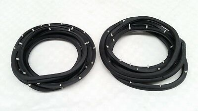 FRONT TWO 2 DOOR RUBBER SEALS FITS TOYOTA HIACE COMMUTER VAN H11 H20 H30 H40
