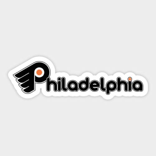 Philadelphia Flyers vinyl sticker for skateboard luggage laptop tumblers car b