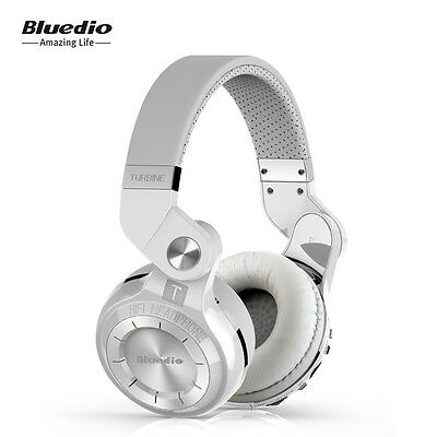 NEW BLUEDIO T2+Wireless Bluetooth4.1 Headphones Stereo Headsets FM&SD Card slot