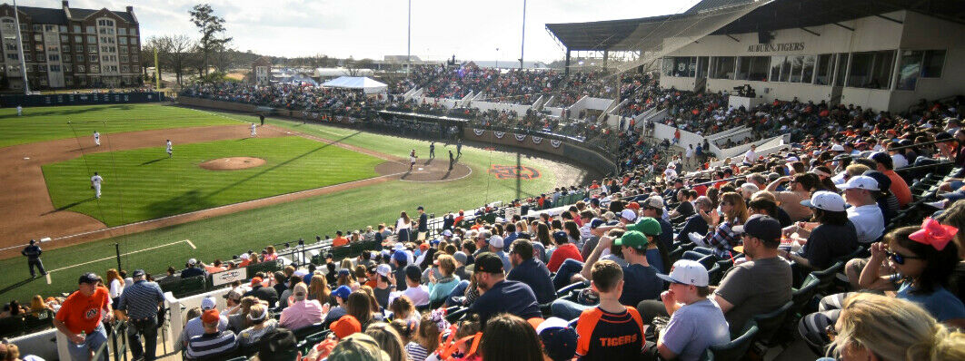 Alabama A&M Bulldogs at Auburn Tigers Baseball